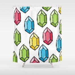 Rupee Rich Shower Curtain
