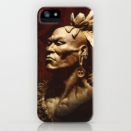 First Peoples Power - Woodland -red iPhone Case