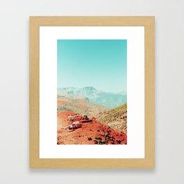Moroccoan Village Framed Art Print