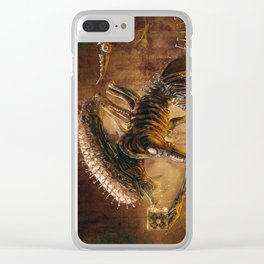 The Xenobite Clear iPhone Case