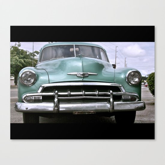 Classic American Chevy Canvas Print
