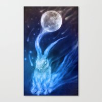 returns Canvas Prints featuring Bluebell Returns by ShadowPaw Pictures