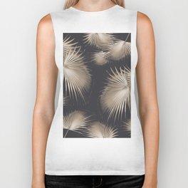 Fan Palm Leaves Paradise #5 #tropical #decor #art #society6 Biker Tank