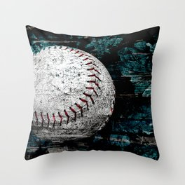 Baseball artwork variation 2 Throw Pillow
