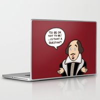 shakespeare Laptop & iPad Skins featuring Shakespeare by evannave