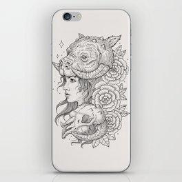 Tauntaun Girl iPhone Skin