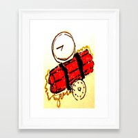 napoleon dynamite Framed Art Prints featuring Dynamite by Keith Cameron