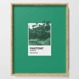 PANTONE SERIES – RAINFOREST Serving Tray