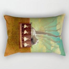 Social Life #2 (The Dancer) Rectangular Pillow