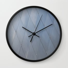 Metal Sheeting Wall Clock