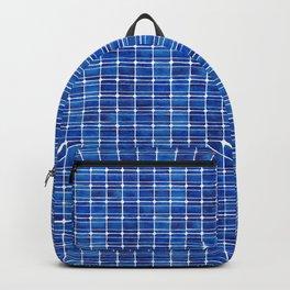 Monocrystalline Solar Panels Watercolor Painting Backpack