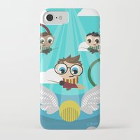 quidditch iPhone & iPod Cases featuring QUIDDITCH by Chris Thompson, ThompsonArts.com