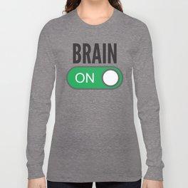 Brain On Long Sleeve T-shirt