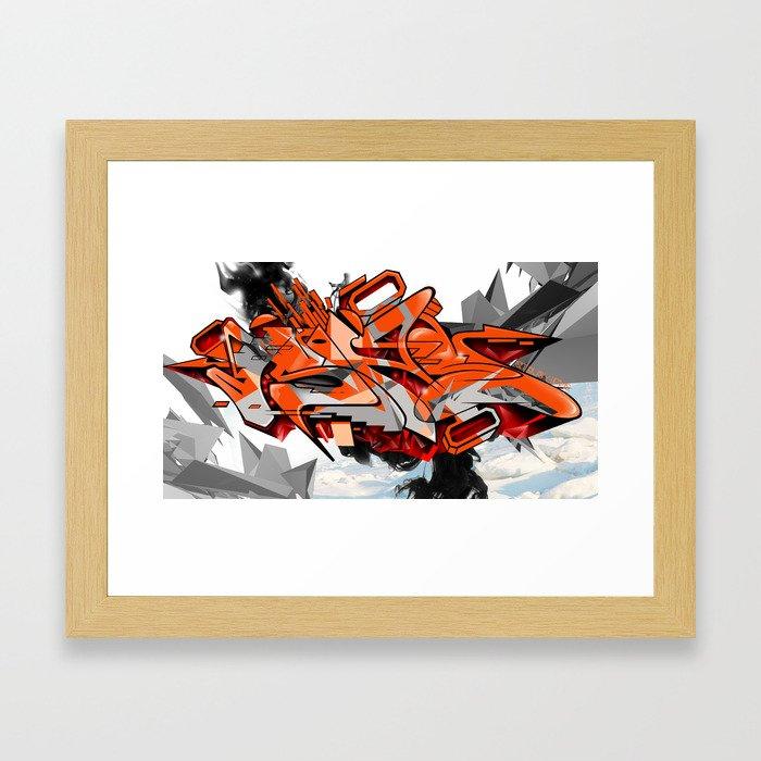 Arctic Heat Framed Art Print