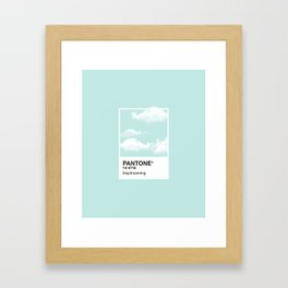Pantone Series – Daydreaming Framed Art Print