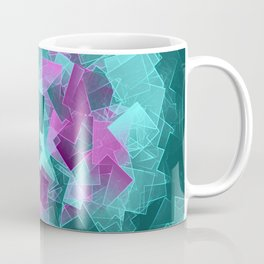 little sqares and rectangles pattern -4- Coffee Mug