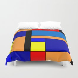 Mondrian #46 Duvet Cover