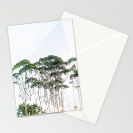 sun through the gumtrees Stationery Cards