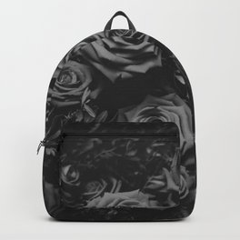 The Roses (Black and White) Backpack