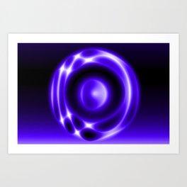 Glowing JANII28B Art Print