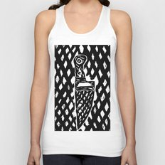 What a sexy knife! Unisex Tank Top