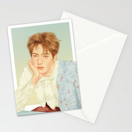 poetic beauty [jaehyun nct] Stationery Cards