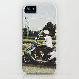 Scooting Along iPhone Case
