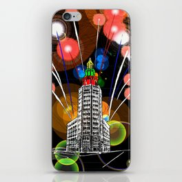 Queen City New Year iPhone Skin