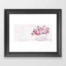 The tender touch Framed Art Print