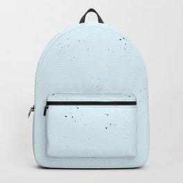 blue speckled Backpack