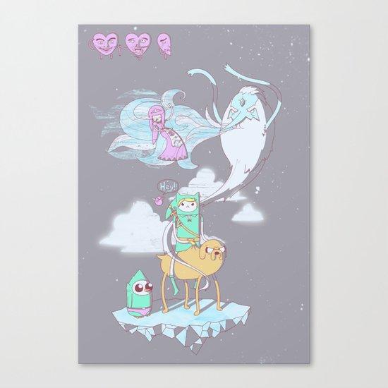 A Finn to the Future Canvas Print