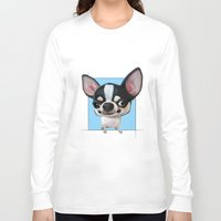 chihuahua Long Sleeve T-shirts featuring Chihuahua by joearc