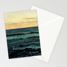 Alamillo Beach Sunset Stationery Cards