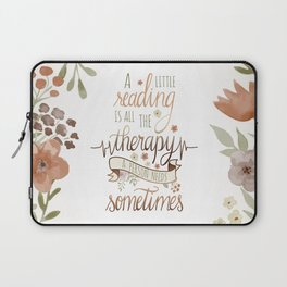 A LITTLE READING Laptop Sleeve