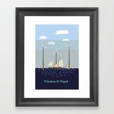 Wind & Water Framed Art Print
