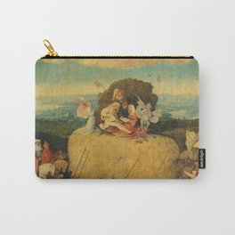 The Haywain Triptych - Hieronymus Bosch Carry-All Pouch