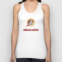nfl Tank Tops featuring Washington Red Leaders - NFL by Steven Klock