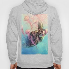 Sea Turtle and Jellyfish! Hoody