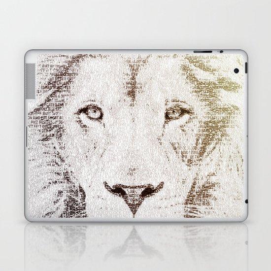 The Intellectual Lion Laptop & iPad Skin