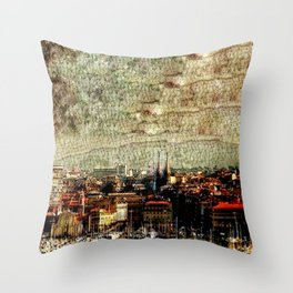 Marseilles Throw Pillow