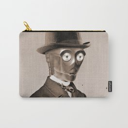 Portrait of Sir C-3PO Carry-All Pouch