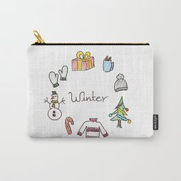 winter feels Carry-All Pouch