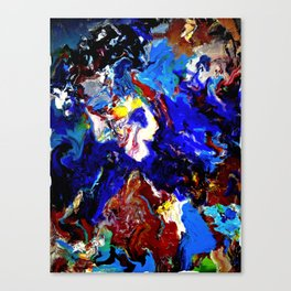That guy in the sky Canvas Print