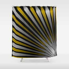 Metallic Propulsion, 2370n Shower Curtain