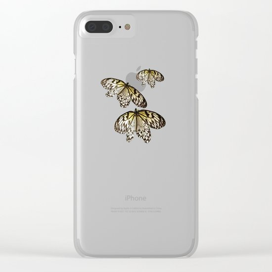 Black Laced Clear iPhone Case