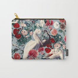 FLORAL AND BIRDS XIV Carry-All Pouch