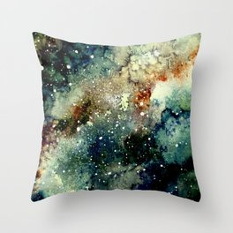 Cosmic Splendor Throw Pillow