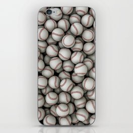 Baseballs iPhone Skin