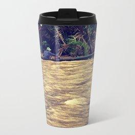Mekong waves Metal Travel Mug