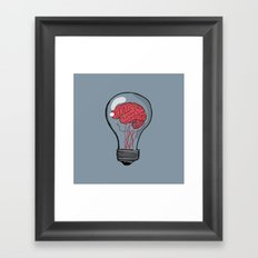 Unplugged Framed Art Print